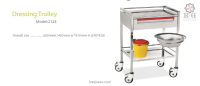 Dressing Trolley Model 2124
