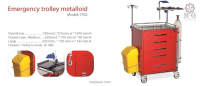 Emergency trolly metalloid model  1702