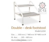 Double - Desk Footstool Model 2250